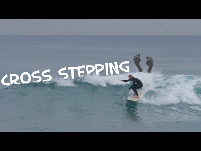 [raw footage] CROSS-STEP PRACTICE