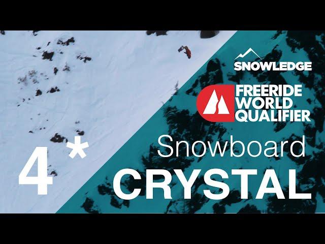 2019 Crystal Mountain Freeride World Qualifier 4*