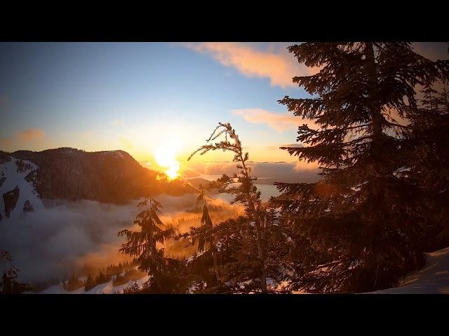 Sunset at Cypress Mountain