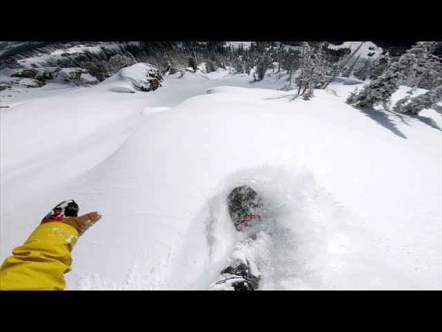 Cam Fitzpatrick Top to Bottom Run at Jackson Hole