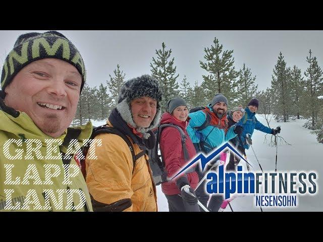 Snowshoeing in Arvidsjaur, Swedish Lapland