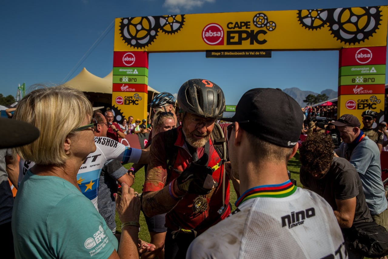 Absa Cape Epic - Stage 7 - #MicatexToughMoments