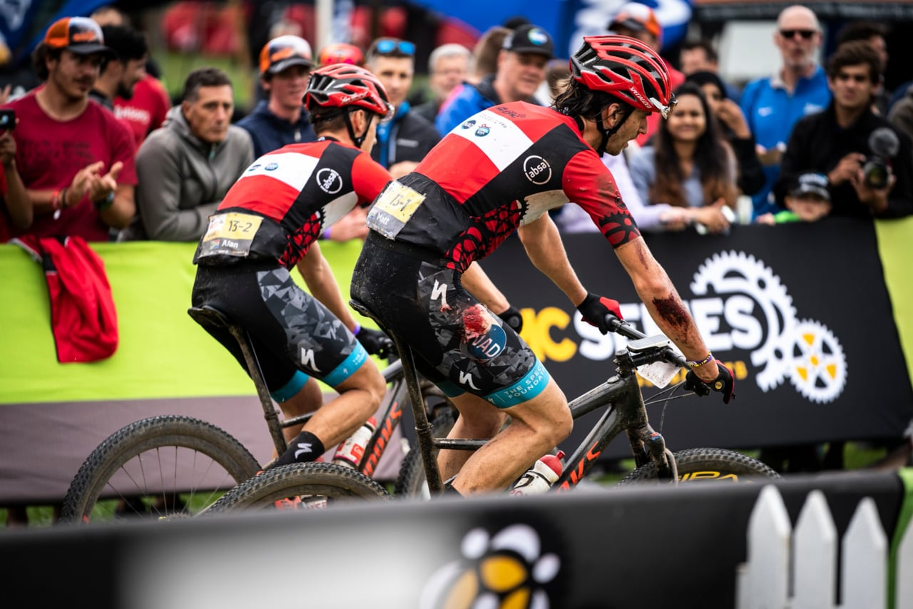 Absa Cape Epic - Stage 3 - #MicatexToughMoments