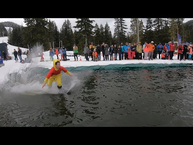 Cypress Mountain Slush Cup 2019 Slow Motion