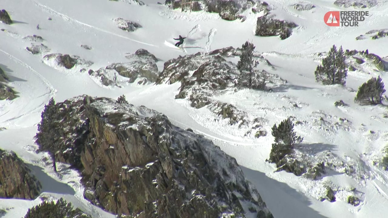 Winning Run Blake Hamm - FWT19 | Ordino Arcalis