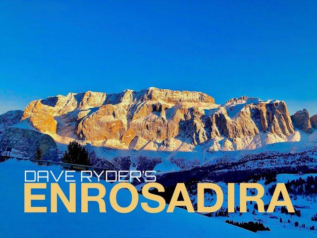 Enrosadira - The Val Gardena Ski Lines