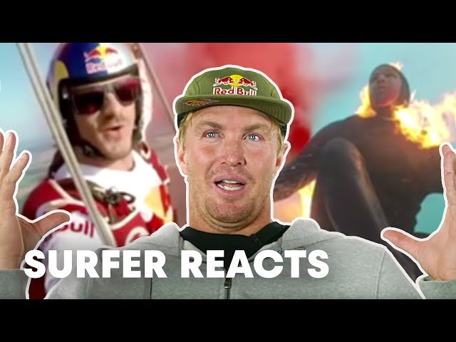 Jamie O'Brien Reacts To Top Red Bull Videos