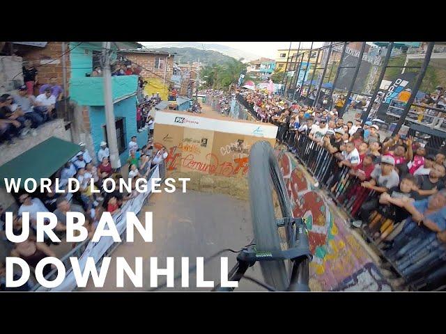 World Record Longest Urban Downhill Track