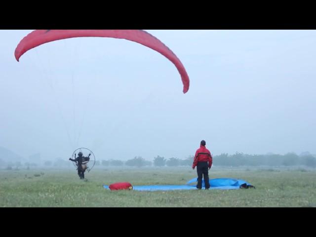 Merzifondan İzmire Gerede Paramotor Fly