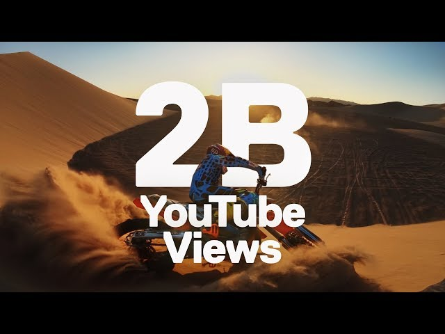 GoPro Celebrates 2 Billion Views On Youtube