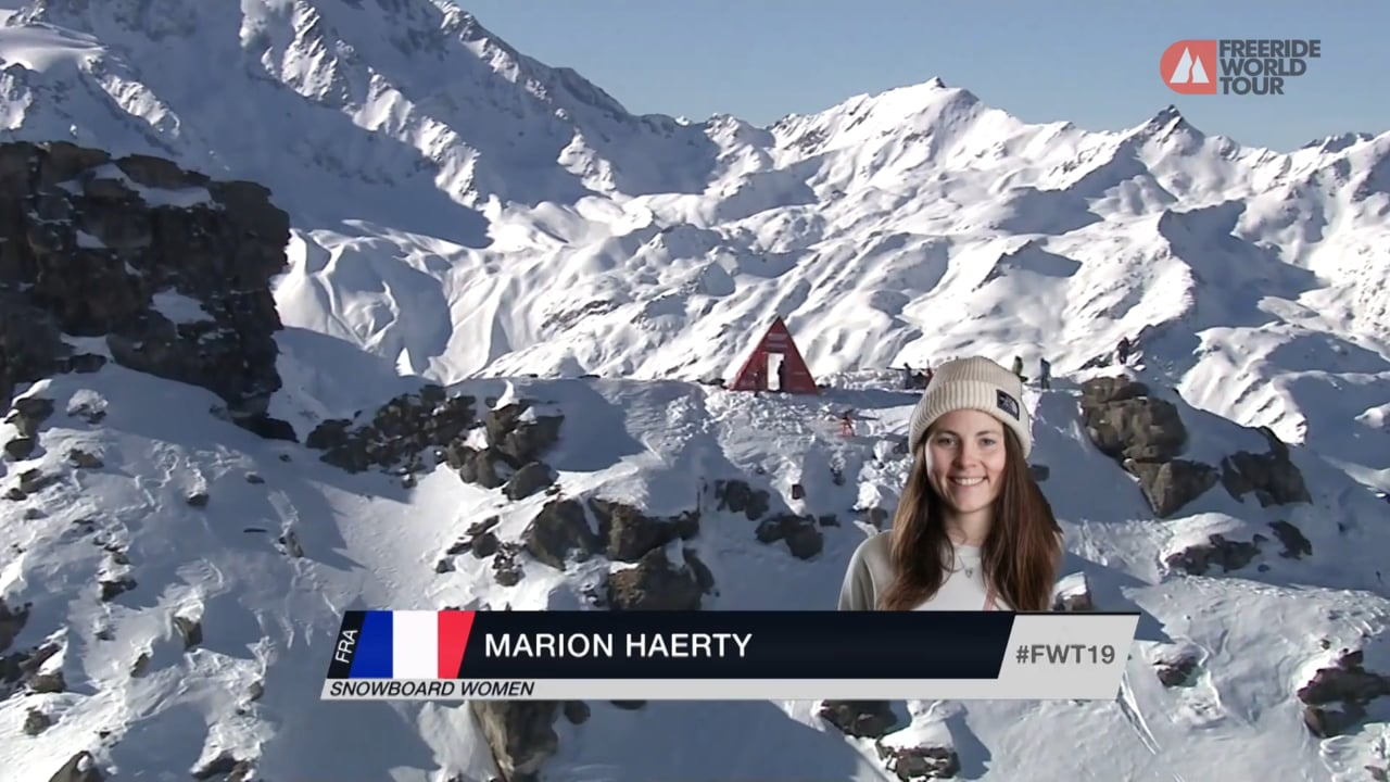Winning Run Marion Haerty - FWT19 | Xtreme Verbier