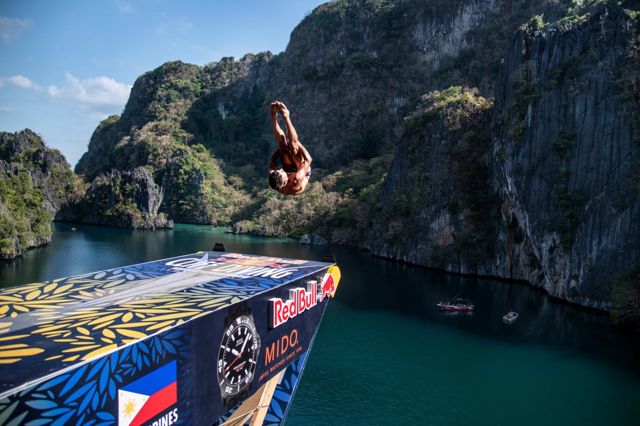 RB Cliff Diving 2019 - PHI - Winning Dives Men