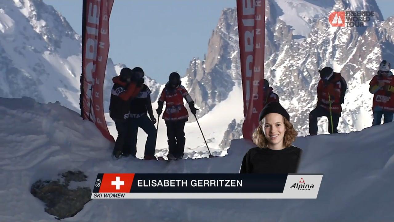 Winning Run Elisabeth Gerritzen - FWT19 | Verbier