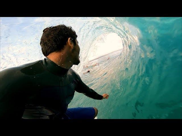 Keahi De Aboitiz Surfing Storm Swells
