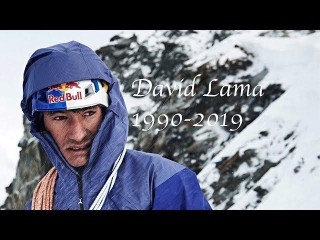 In Memory of David Lama