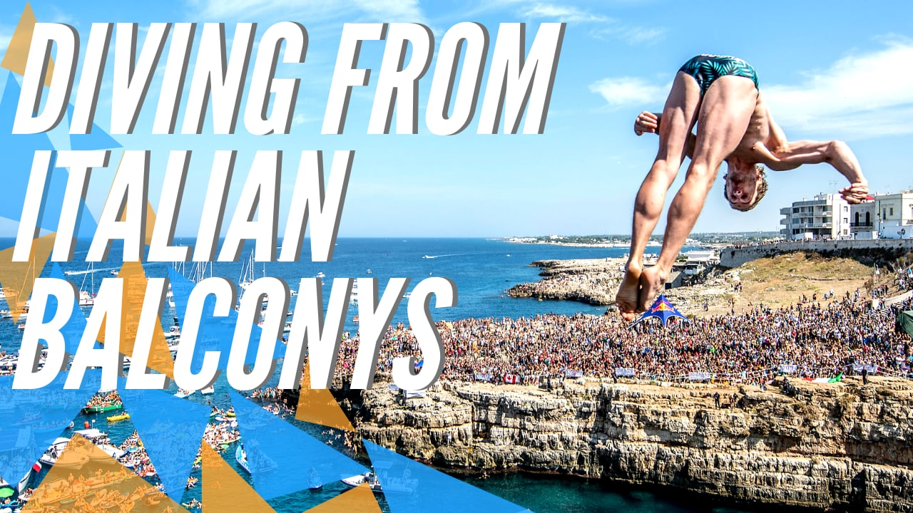Diving from Italian balconies | RB Cliff Diving