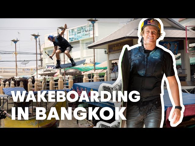 Red Bull Searching Bangkok - Wakeboarding