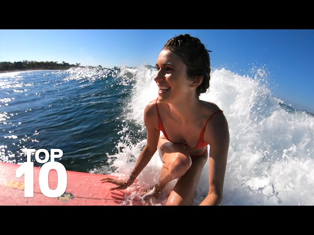 GoPro: Top 10 Surf Moments
