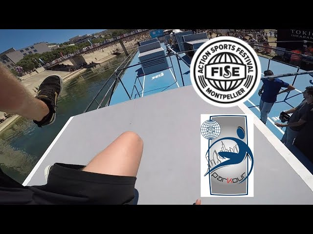 FISE World Series 2019 Montpellier: Parkour & Free