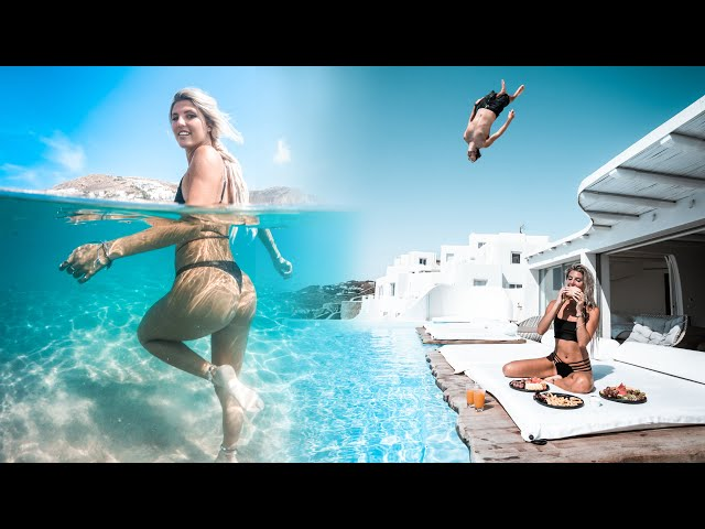Chris Rogers And Barbara Perez Travel Greece