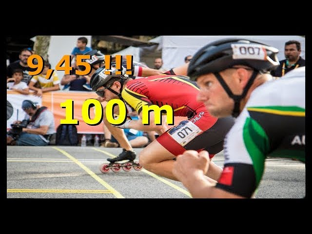 Speed Skating -100 m- World Skate Games Barcelona