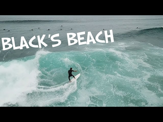 BLACK'S BEACH SOUTH SWELL