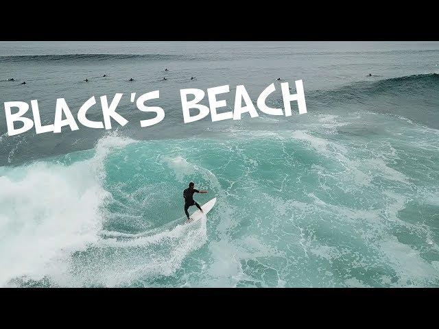 BLACK'S BEACH SOUTH SWELL