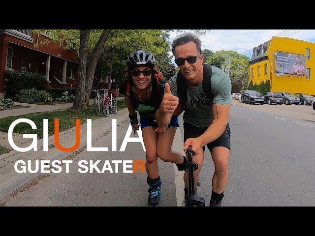 Giulia V Guest Skater - w Bill Stoppard