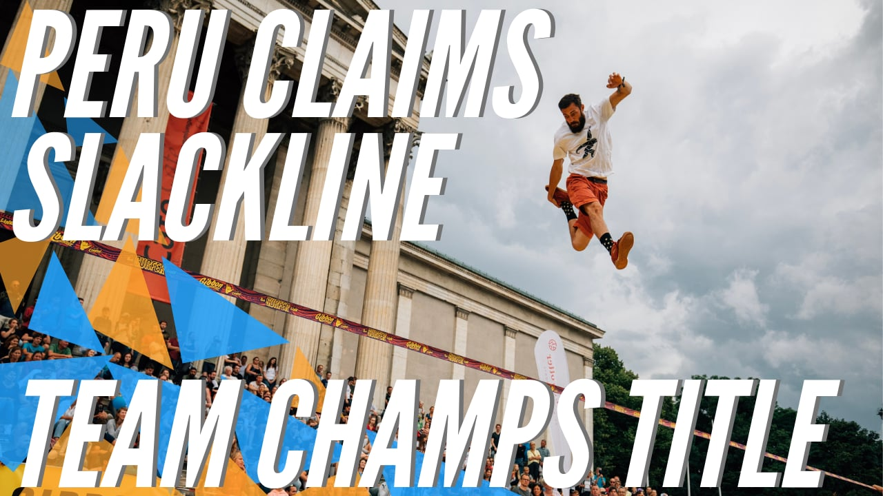 GLOBETROTTER World Slackline Masters 2019 - Munich