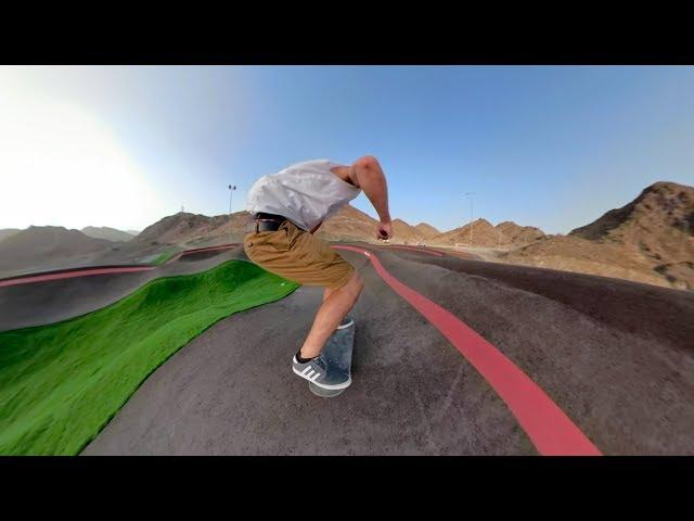 GoPro Fusion Pump Track Skating