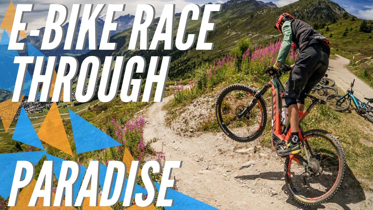 E-Bike fans compete in Tour du Val de Bagnes