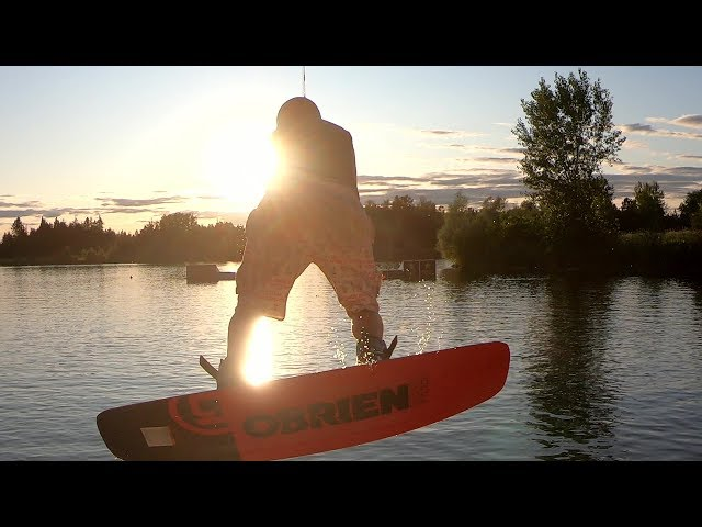 Sunset Set at Evolution Wake Park