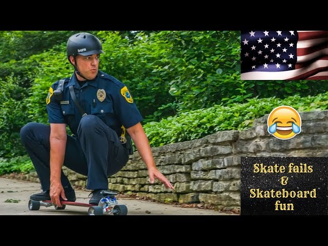 Skate Fails & Skateboard Fun 2019! #1