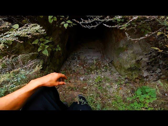 Exploring old ruins