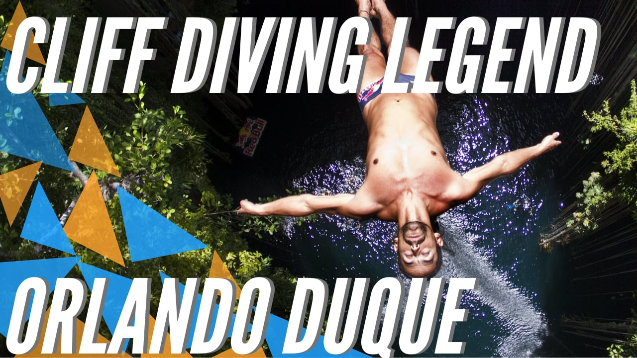 Cliff Diving legend Orlando Duque retires