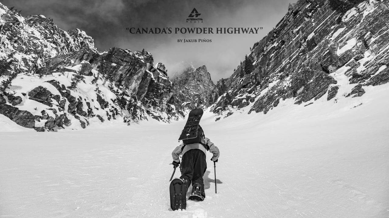 Jakub Piňos   Canada's Powder Highway