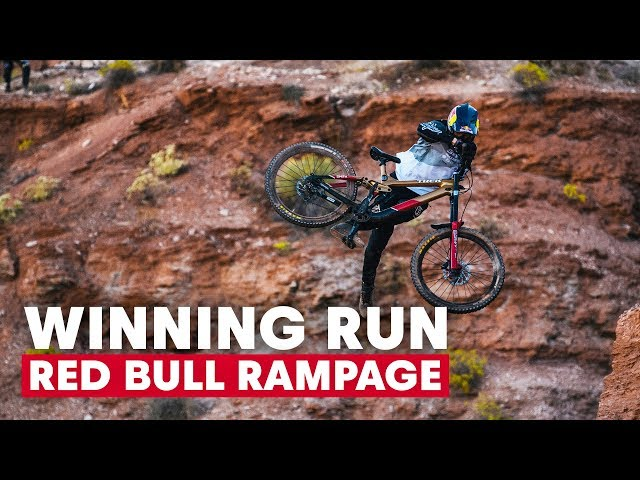 Red Bull Rampage 2019 Winning Run
