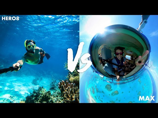 GoPro HERO8 VS GoPro MAX