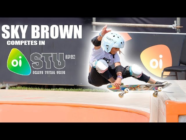 Sky Brown 3rd Place Rio Olympic Skate Qualifier