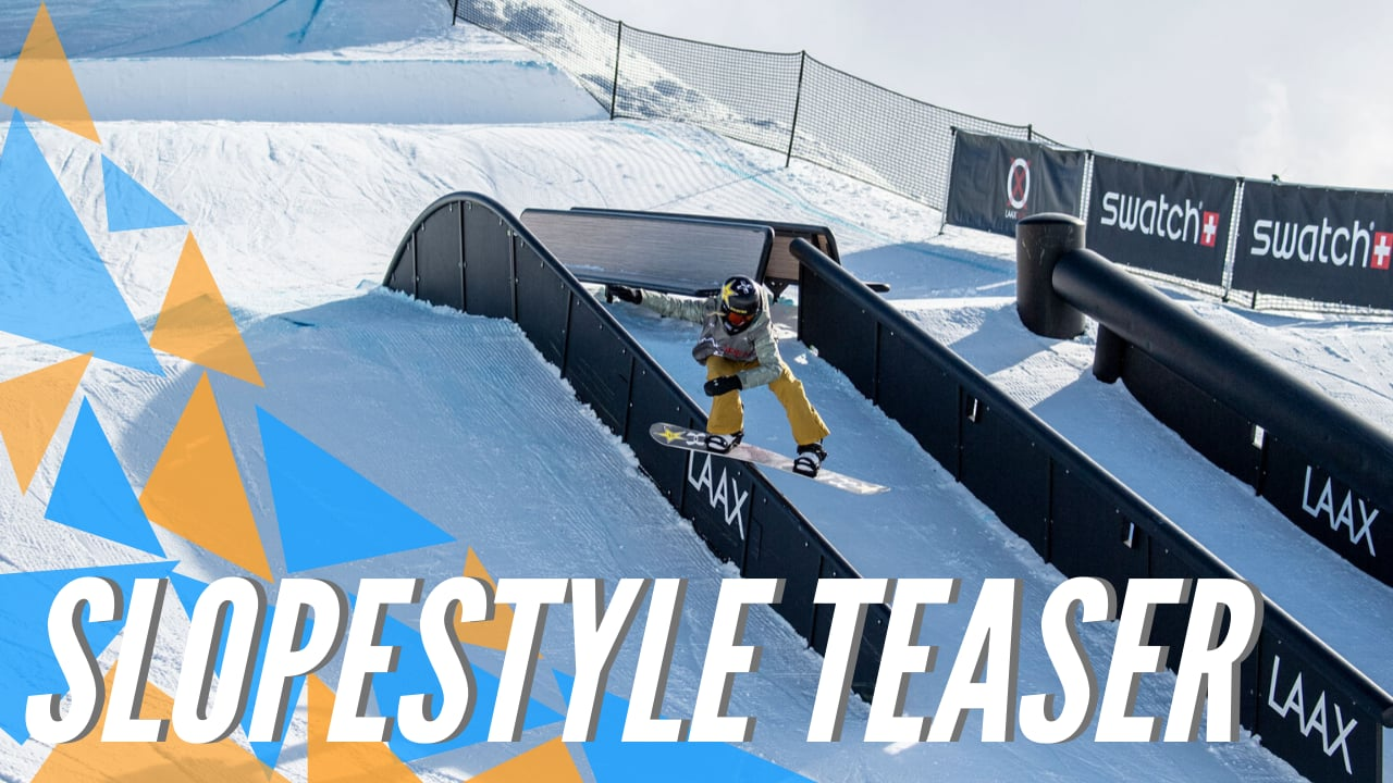 Slopestyle Action at LAAX OPEN 2020 | Trailer