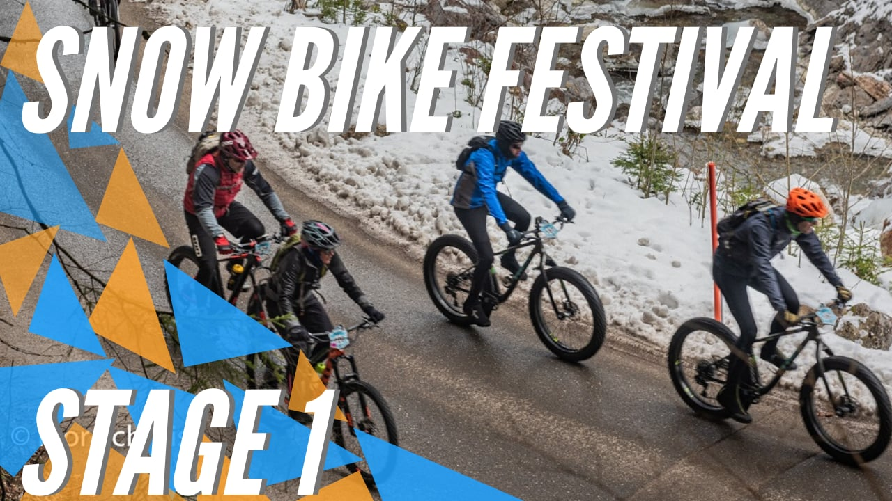 Snow Bike Festival 2020 - Gstaad (SUI) - Stage 1