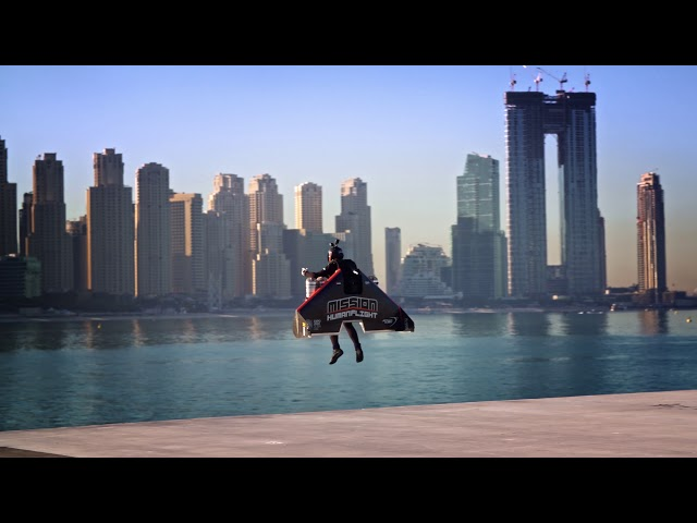 Mission: Human Flight: Jetman Dubai Takeoff - 4K