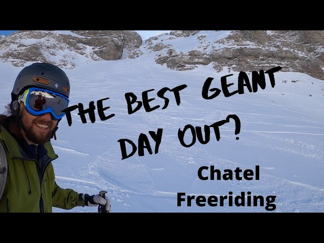 GETTING GIANT! BIG FREERIDE DAY OUT - Chatel - Poi
