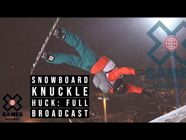 X Games Norway 2020 Snowboard Knuckle Huck
