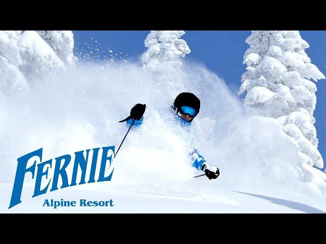 FERNIE BC POWDER SKIING AND SNOWBOARDING