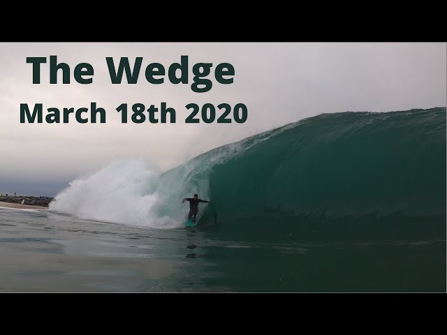 Insane Closeouts at The Wedge | Water Shots | Marc