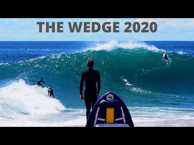 The Wedge | Huge Swell Social Distancing | Edit |
