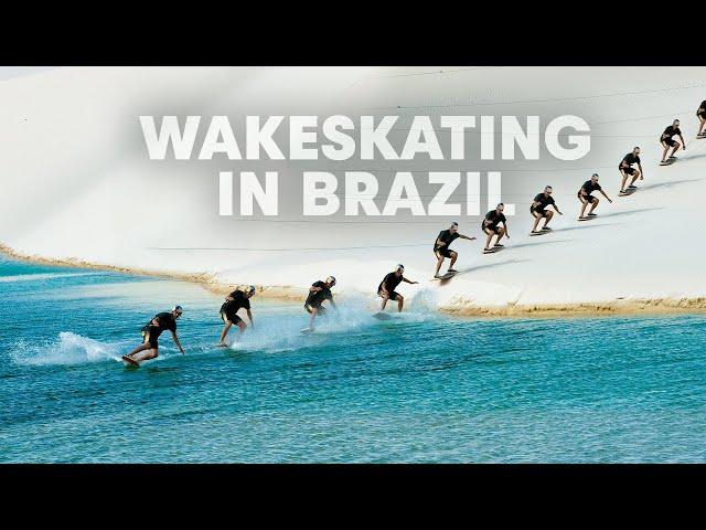 Wakeskating Brazil's Desert Lagoons
