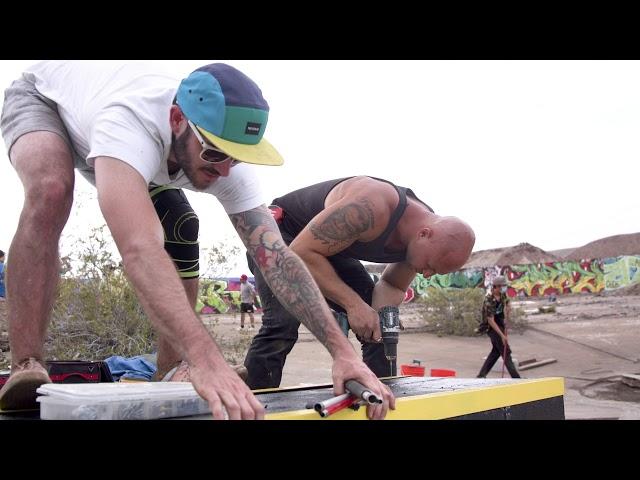 The Great American Dirt Farm - Skateboarding DIY