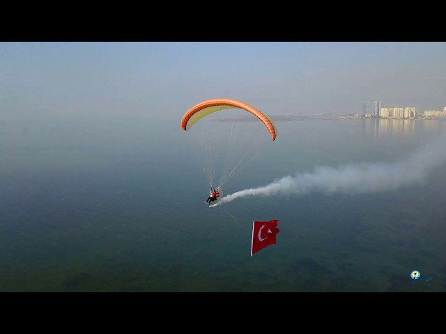 Paramotor Fly İzmir-Turkey Rebuclic Day